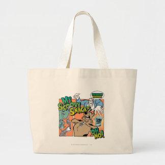 """Scooby Doo """"mis bocados """" 2 de Scooby Bolsa Lienzo"""
