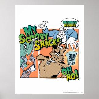 Scooby Doo mis bocados 2 de Scooby Impresiones