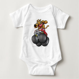 Scooby Doo Monster Truck1 Baby Bodysuit