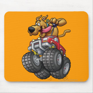 Scooby Doo Monster Truck1 Mouse Pad