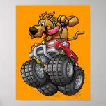 Scooby Doo Monster Truck1 Poster