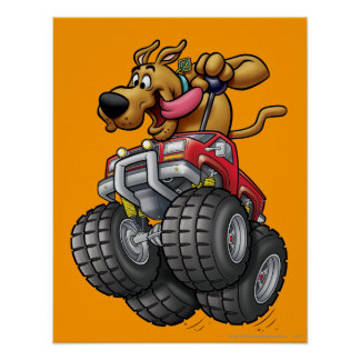 Scooby Doo Monster Truck1 Posters