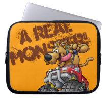 Scooby Doo-Monster Truck Laptop Sleeve