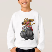Scooby Doo-Monster Truck Sweatshirt
