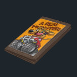 """Scooby Doo-Monster Truck Tri-fold Wallet<br><div class=""""desc"""">Scooby Doo Goal Collection</div>"""