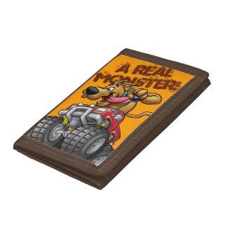 Scooby Doo-Monster Truck Tri-fold Wallet