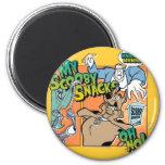 "Scooby Doo ""My Scooby Snacks""2 2 Inch Round Magnet"