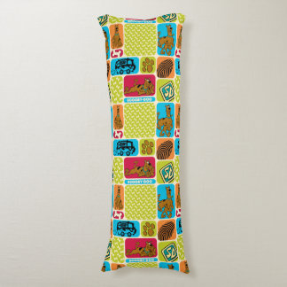 Scooby-Doo Mystery Pattern Body Pillow