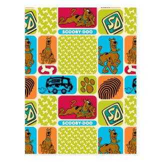 Scooby-Doo Mystery Pattern Postcard