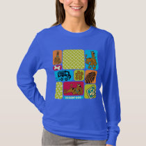 Scooby-Doo Mystery Pattern T-Shirt