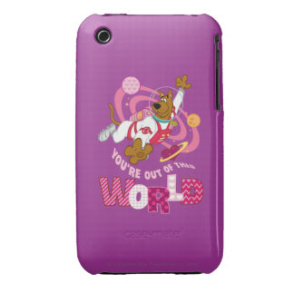 Scooby Doo - Out Of This World Case-Mate iPhone 3 Cases