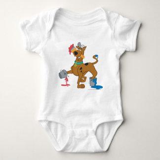 Scooby Doo Paint3 Baby Bodysuit