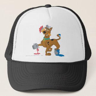 Scooby Doo Paint3 Trucker Hat