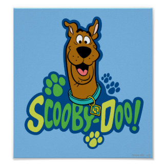Scooby-Doo Paw Print Character Badge