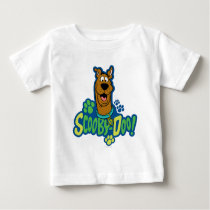 Scooby-Doo Paw Print Character Badge Baby T-Shirt