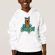 Scooby-Doo Paw Print Character Badge Hoodie