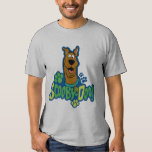 Scooby-Doo Paw Print Character Badge T Shirt