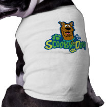 Scooby-Doo Paw Print Character Badge Tee