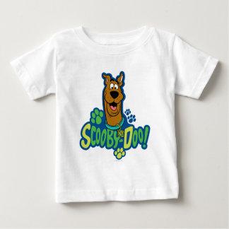 Scooby-Doo Paw Print Character Badge Tee Shirt