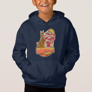 "Scooby-Doo | Pile of Pizza ""Munchies"" Graphic Hoodie"