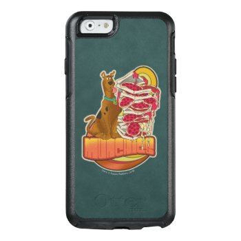 """Scooby-doo   Pile Of Pizza """"munchies"""" Graphic Otterbox Iphone 6/6s Case by scoobydoo at Zazzle"""