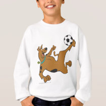 Scooby-Doo Playing Soccer Sweatshirt