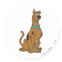 Scooby Doo Pose 27 Classic Round Sticker