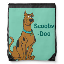 Scooby Doo Pose 27 Drawstring Backpack