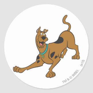 Scooby Doo Pose 39 Classic Round Sticker