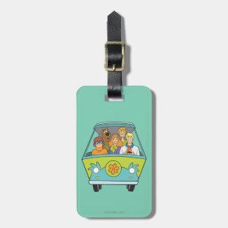 Scooby Doo Pose 71 Bag Tag