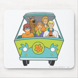 Scooby Doo Pose 71 Mouse Pad