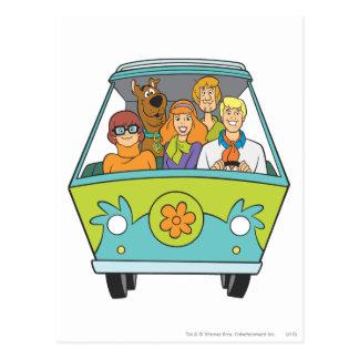 Scooby Doo Pose 71 Postcard