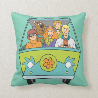 Scooby Doo Pose 71 Throw Pillow
