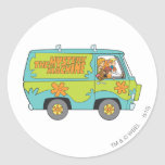 Scooby Doo Pose 73 Classic Round Sticker