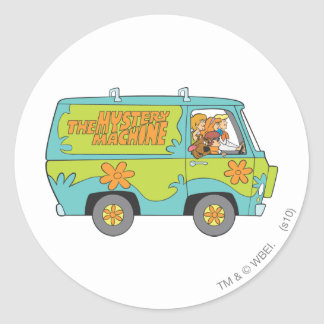 Scooby Doo Pose 73 Classic Round Sticker