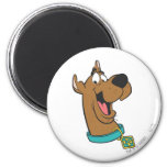 Scooby Doo Pose 85 2 Inch Round Magnet