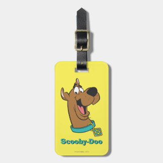 Scooby Doo Pose 85 Luggage Tag