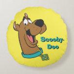 Scooby Doo Pose 85 Round Pillow