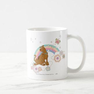 Scooby Doo Rainbow Butterfly2 Classic White Coffee Mug