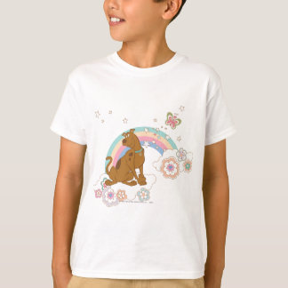 Scooby Doo Rainbow Butterfly2 T-Shirt