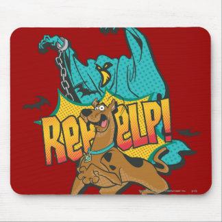 """Scooby Doo """"Reeeelp!"""" Mousepad"""