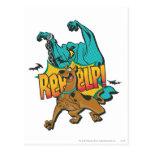 """¡Scooby Doo """"Reeeelp! """" Postal"""