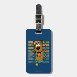 Scooby-Doo Ruh Roh Etiquetas Para Maletas