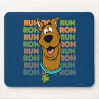 Scooby-Doo Ruh Roh Mouse Pad