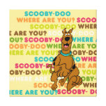 """Scooby-Doo Running """"Where Are You?"""" Canvas Print"""