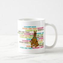 "Scooby-Doo Running ""Where Are You?"" Coffee Mug"