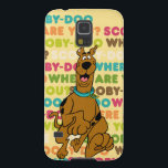"Scooby-Doo Running &quot;Where Are You?&quot; Galaxy S5 Cover<br><div class=""desc"">Check out Scooby running on top of a typographical background that reads: &quot;Scooby-Doo Where Are You?&quot;</div>"