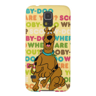 "Scooby-Doo Running ""Where Are You?"" Galaxy S5 Cover"