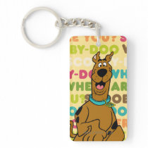 "Scooby-Doo Running ""Where Are You?"" Keychain"