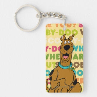 """Scooby-Doo Running """"Where Are You?"""" Keychain"""